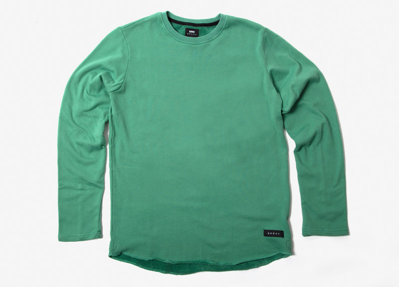 Edwin Terry TS Long Sleeve T Shirt - Frosty Spruce