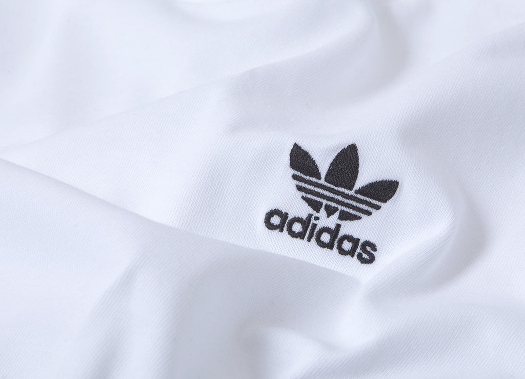 adidas Originals Mini Trefoil T Shirt - White
