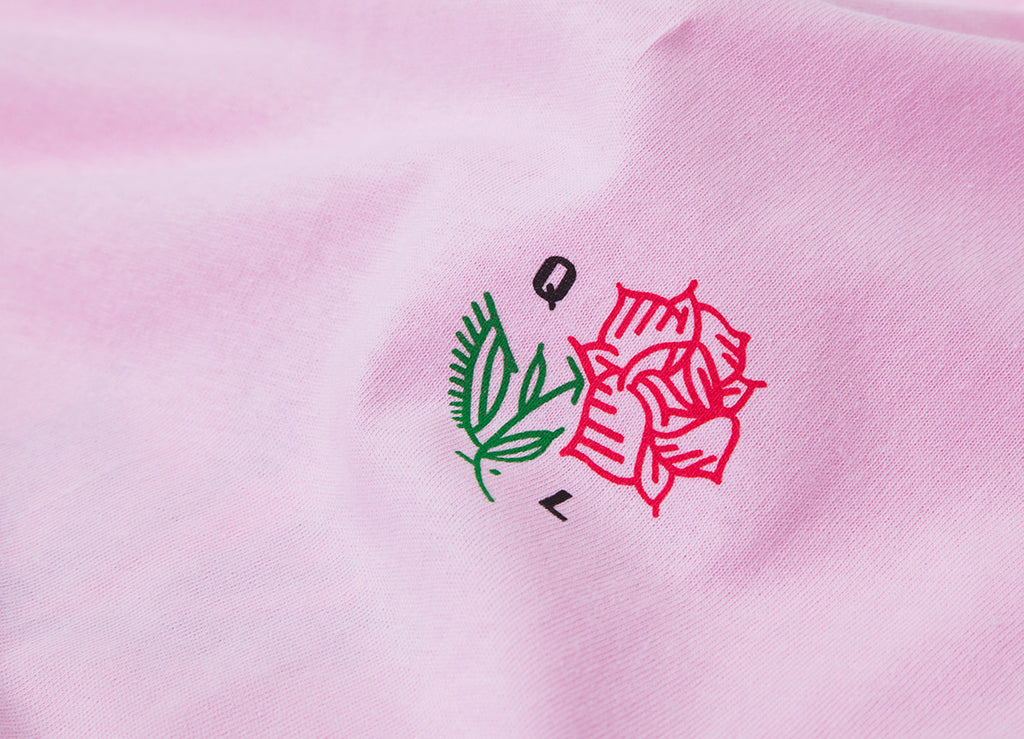 The Quiet Life Rose T Shirt - Pink