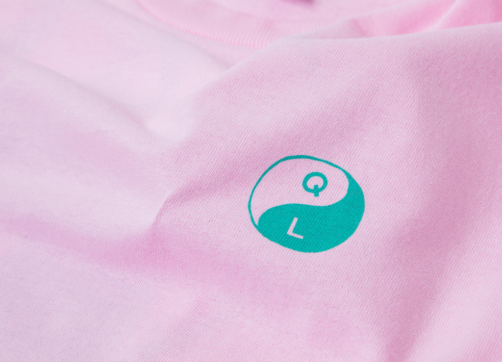 The Quiet Life Yin Yang T Shirt - Pink