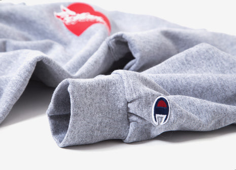 The Hundreds Lover Crewneck - Oxford Grey