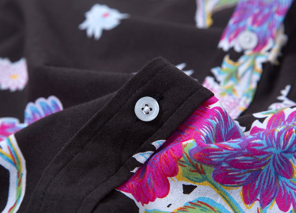 HUF Botanica Shirt - Black