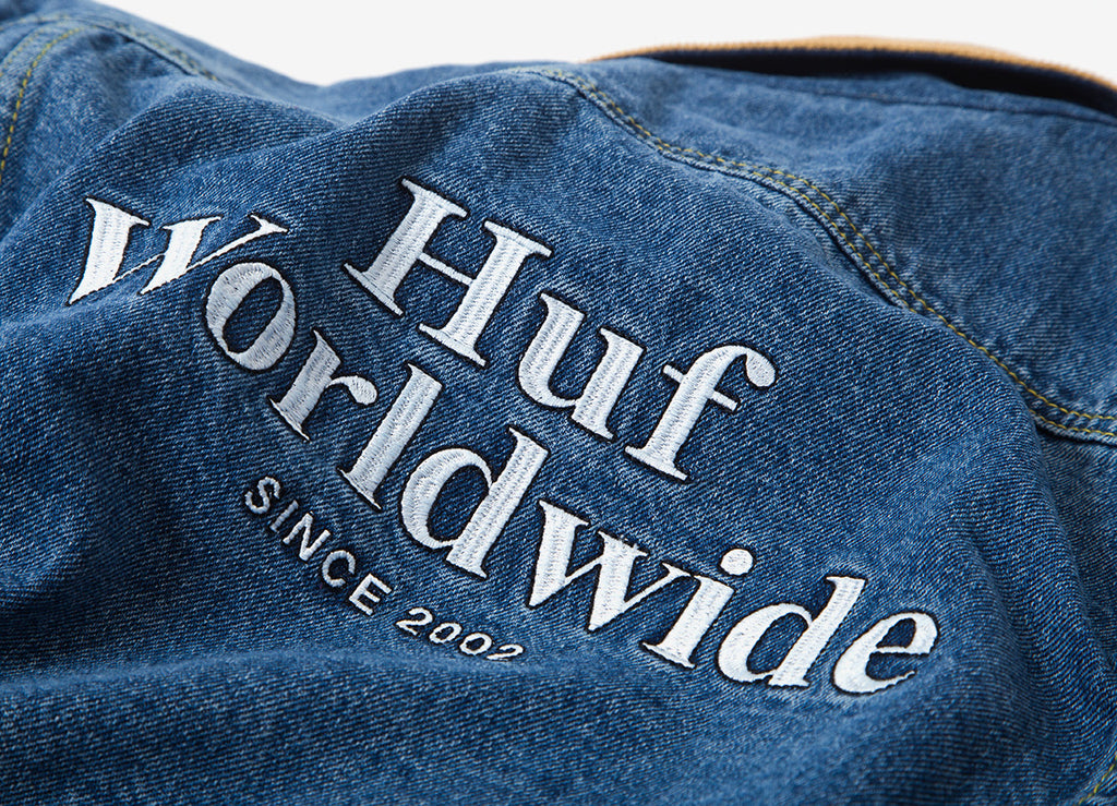 HUF Brooklyn Denim Jacket - Light Blue