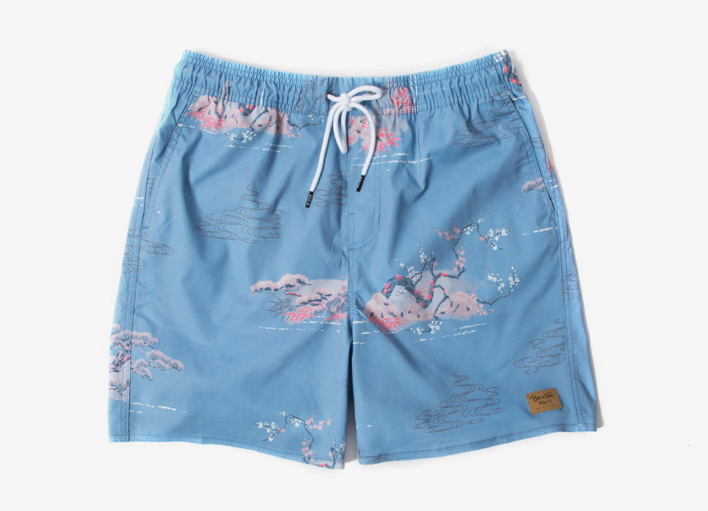 Brixton Havana Trunk Shorts - Blue Dream