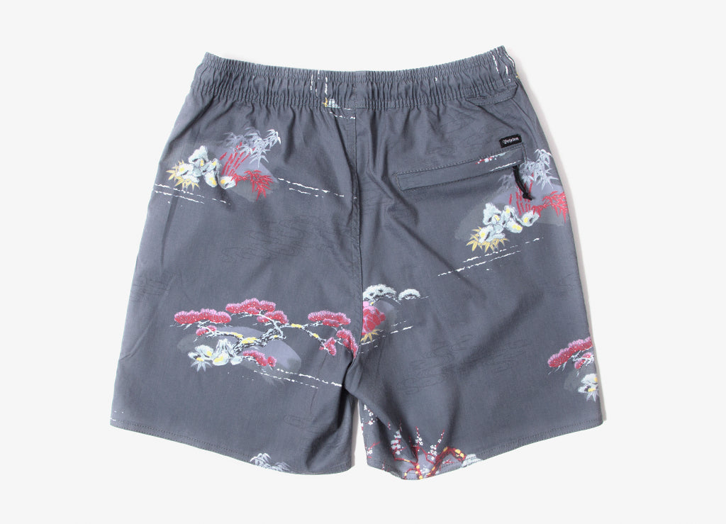 Brixton Havana Trunk Shorts - Dark Grey