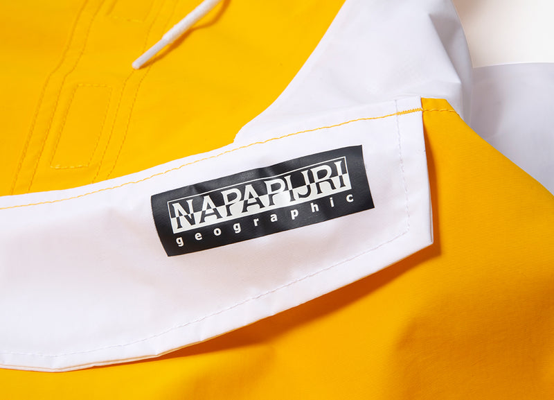 Napapijri Skidoo Tribe Parka Jacket - Multicolour/Yellow