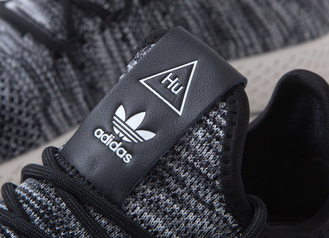 Pharrell x adidas Originals Tennis Hu Primeknit Shoes - Black