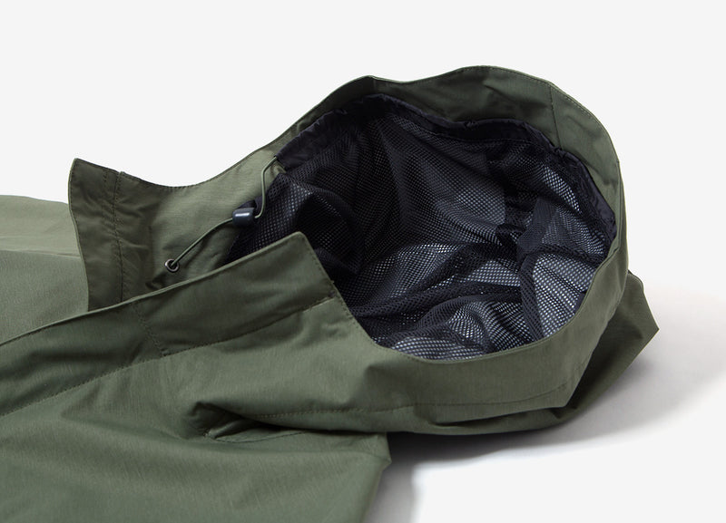 Columbia Diablo Creek Rain Shell Jacket - Mosstone