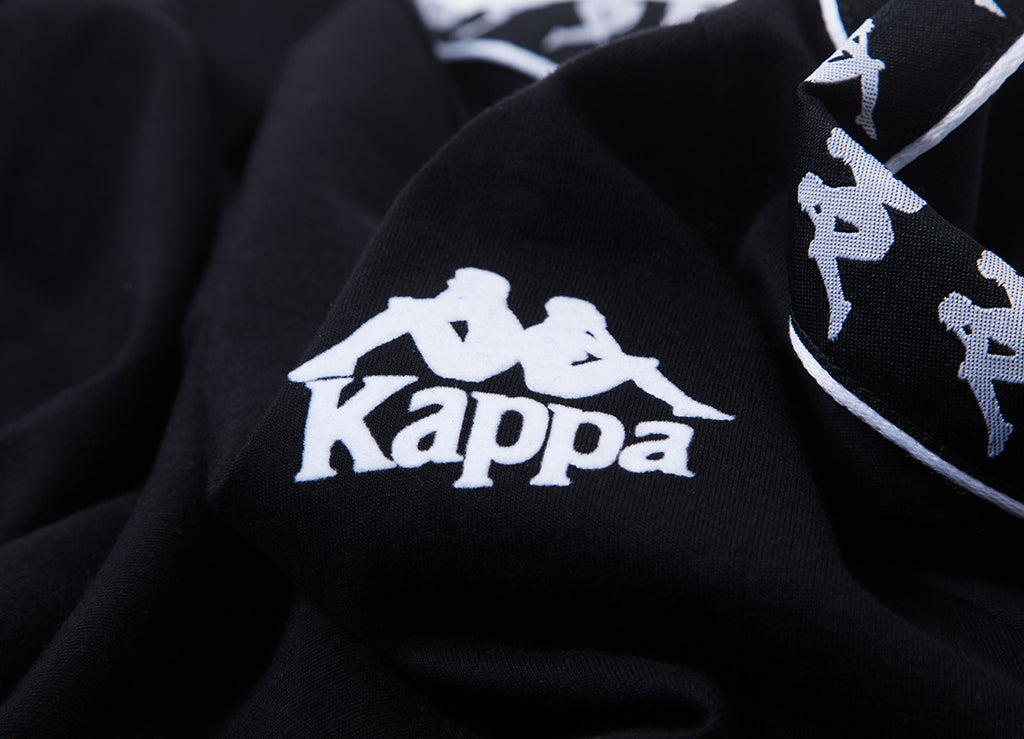 Kappa Raul Authentic T Shirt  - Black/White