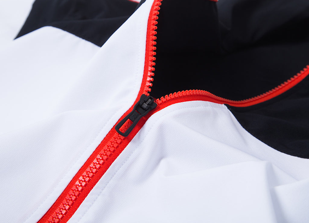 Kappa Aaron 222 Banda Jacket - Black/White/Red/Orange
