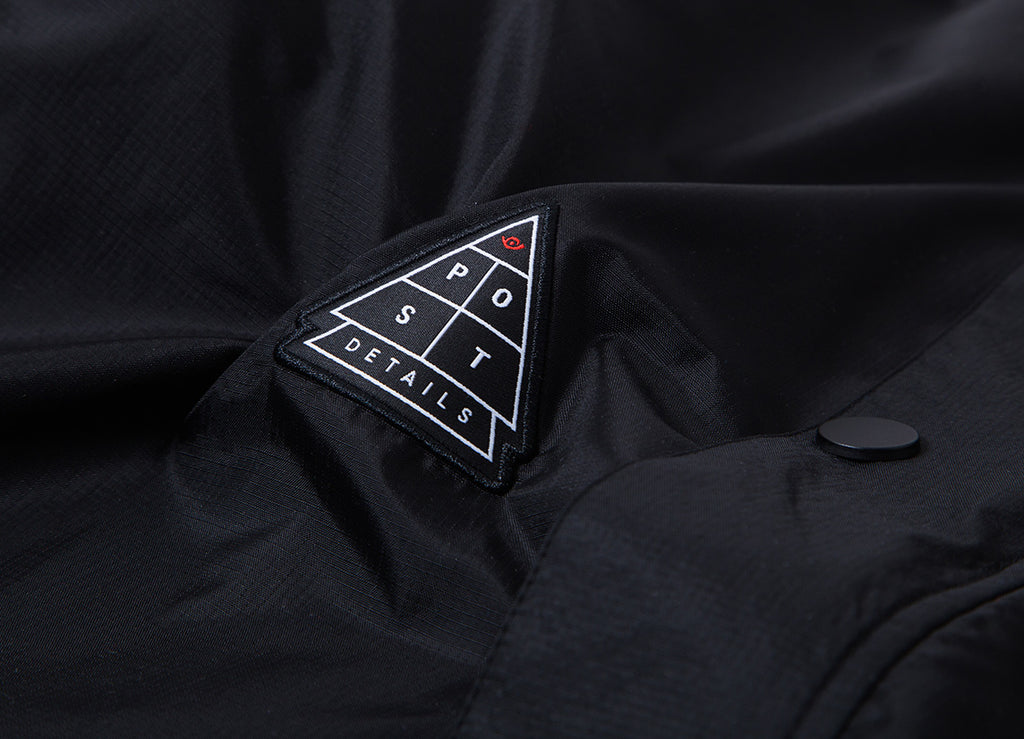 Post Details Shuffleboard Jacket - Black