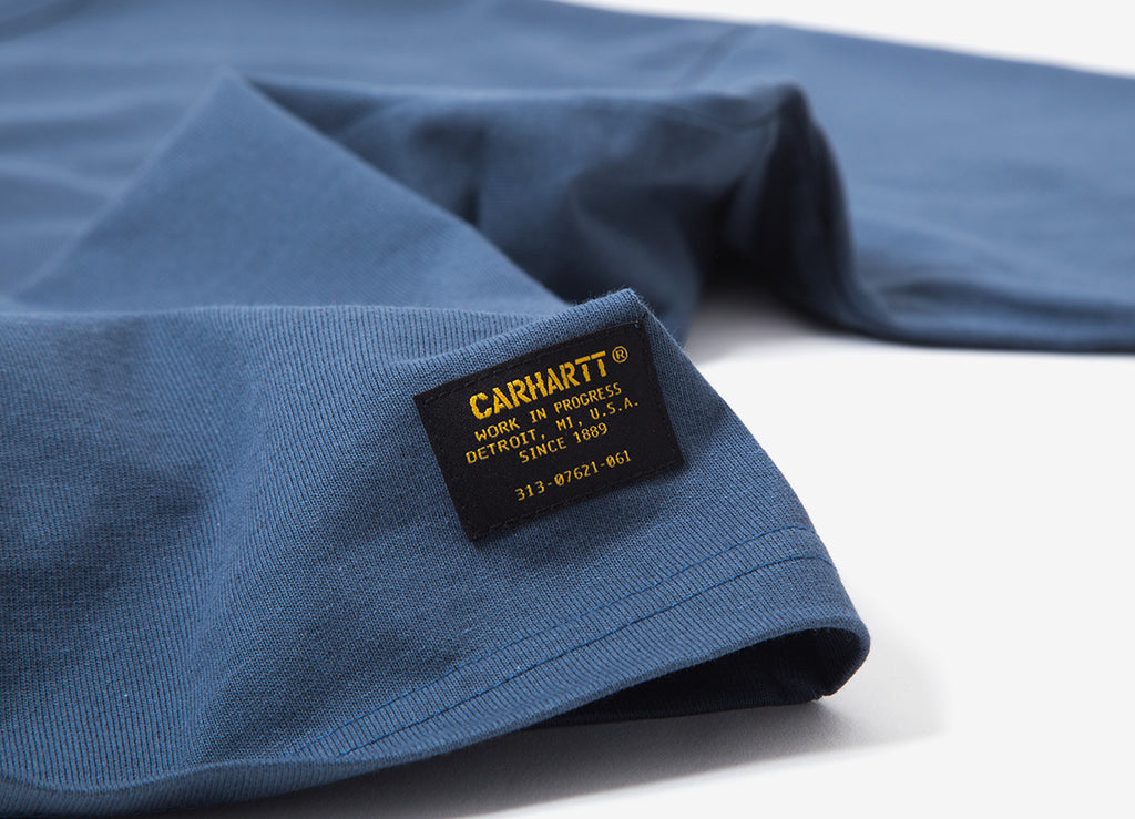 Carhartt Military T Shirt - Stone Blue