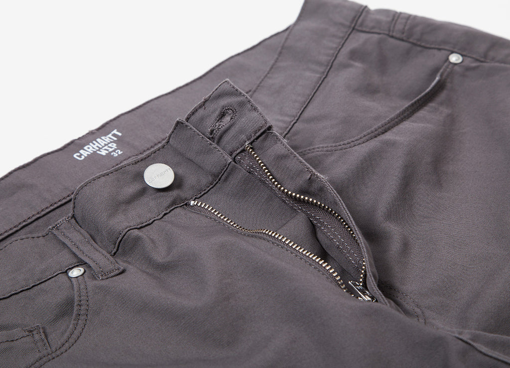 Carhartt Swell Shorts - Air Force Grey (Rinsed)