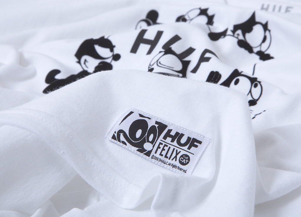 HUF x Felix The Cat Box T Shirt - White
