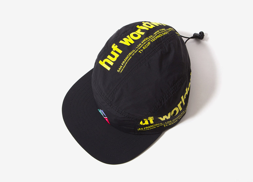 HUF Boulevard Volley 5 Panel Cap - Black
