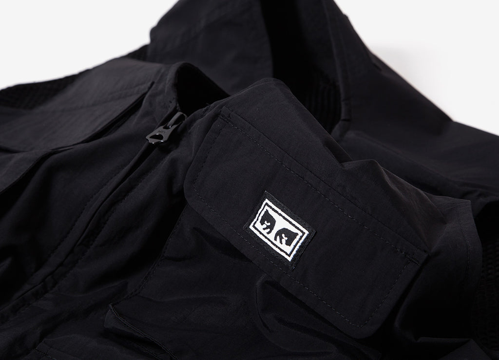 Obey Technical Vest - Black