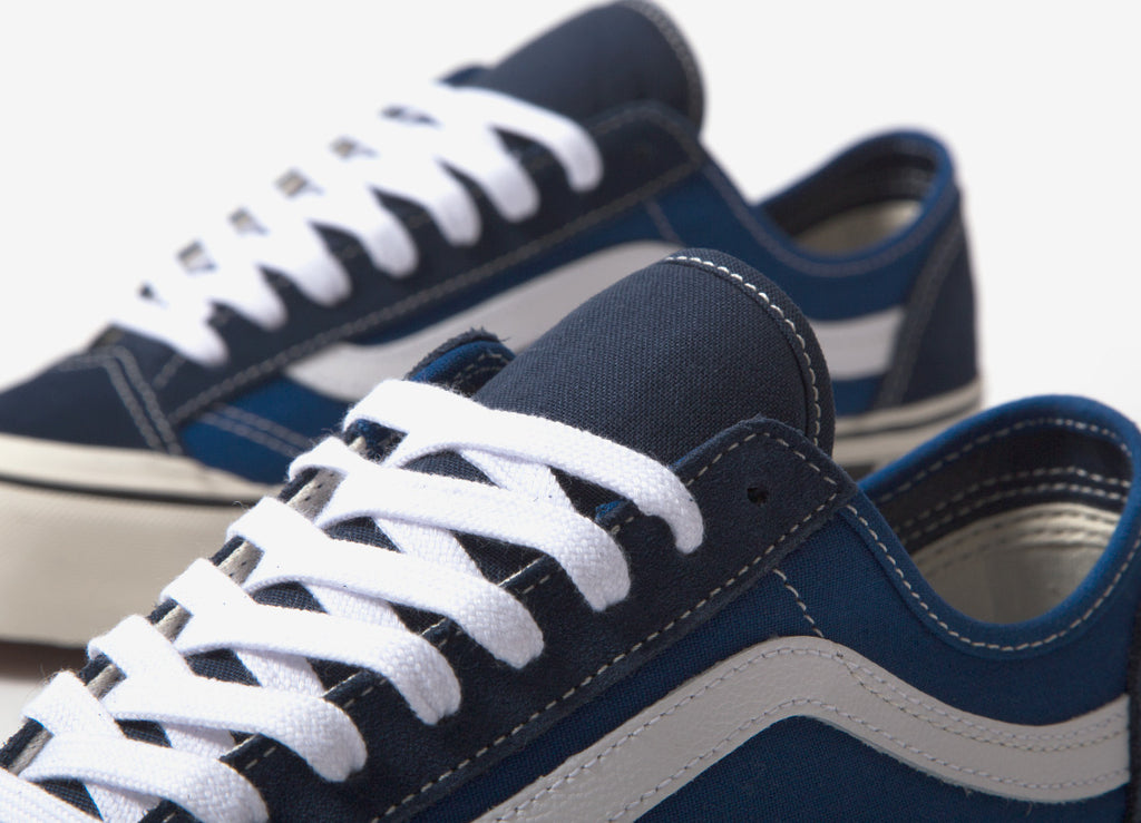 Vans Style 36 Decon SF Checkerboard Shoes - True Blue