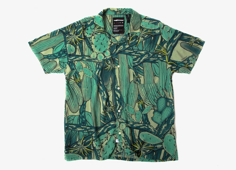 The Hundreds Shrub Short Sleeve Shirt - Camo