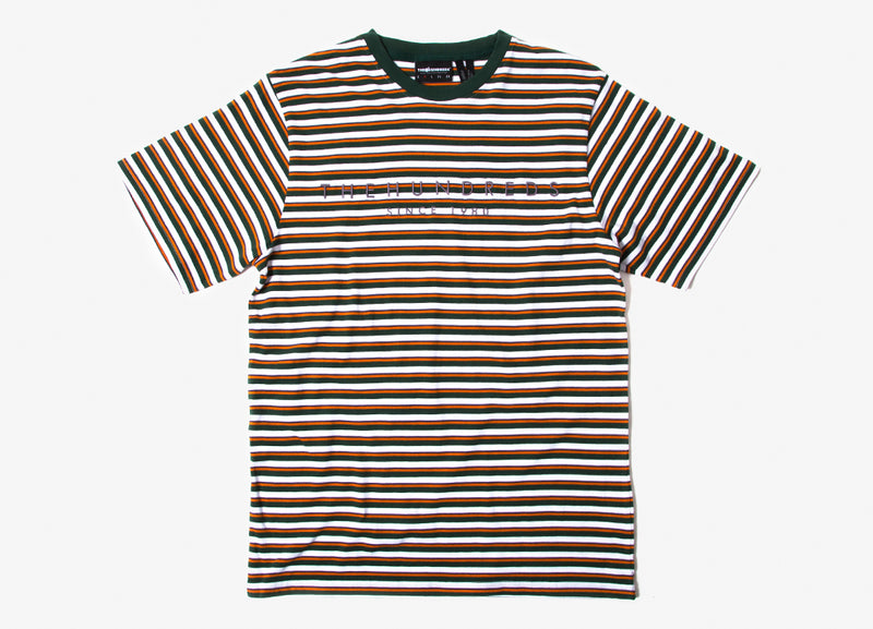 The Hundreds Renner T Shirt - Hunter Green