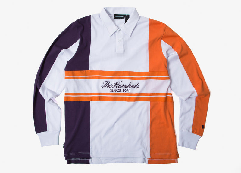 The Hundreds Willow Rugby Polo Shirt - White
