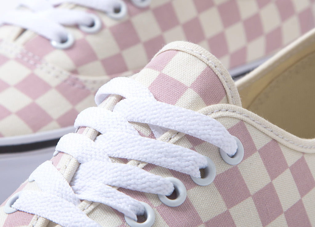 aac3ec4614681e Vans Authentic  Checkerboard  Shoes - Chalk Pink