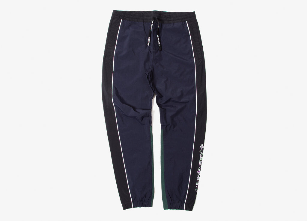 Carhartt Terrace Pants - Dark Navy/Black/Bottle Green