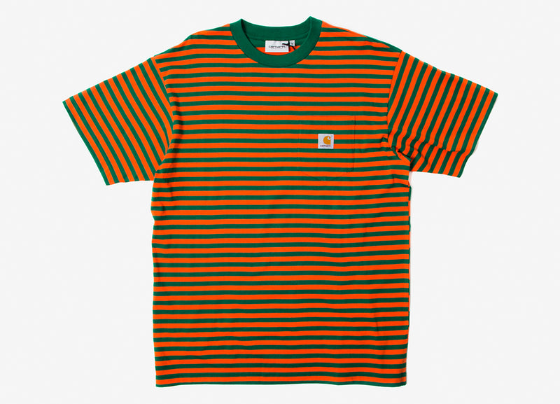 Carhartt Barkley Pocket T Shirt - Dragon/Civil