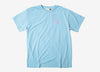 Deus Ex Machina Steve Shield T Shirt - Crystal Blue