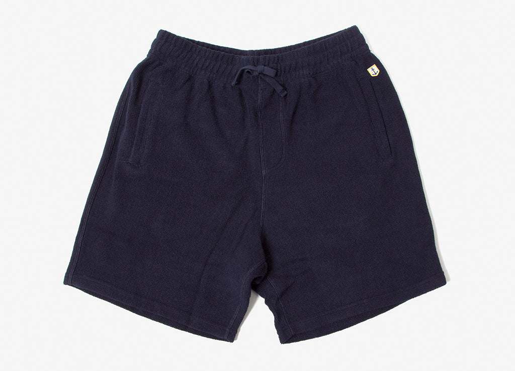 Armor Lux 77356 Terry Shorts - Navy