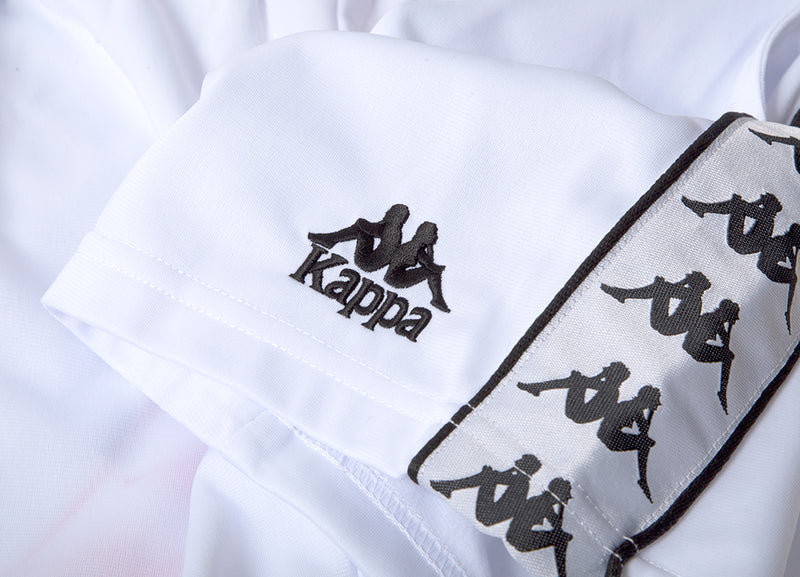 Kappa 222 Banda Cole Shorts - White/Black