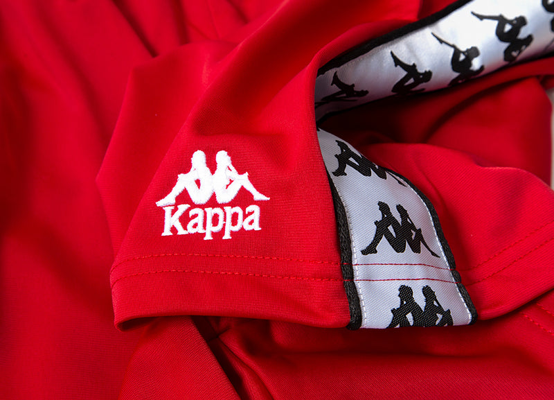 Kappa 222 Banda Cole Shorts - Red/White