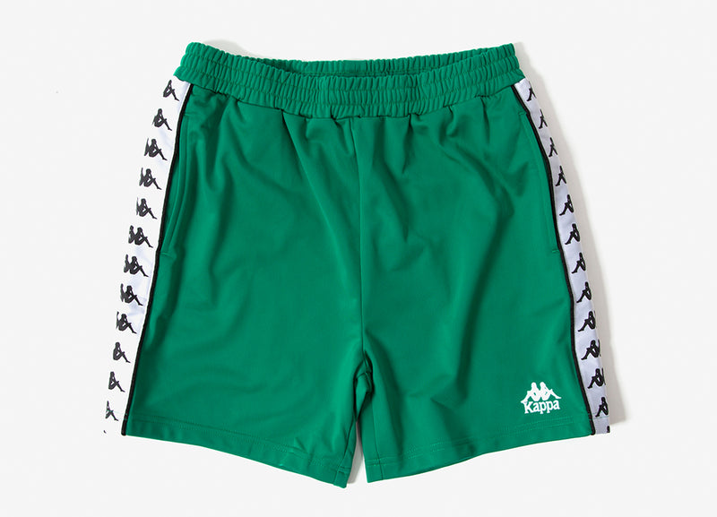 Kappa 222 Banda Cole Shorts - Green/White