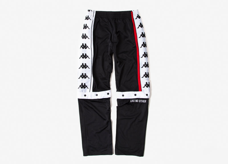 Kappa Authentic Baltas Pants - Black/White