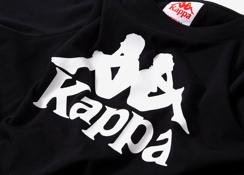 Kappa Estessi T Shirt - Black/White