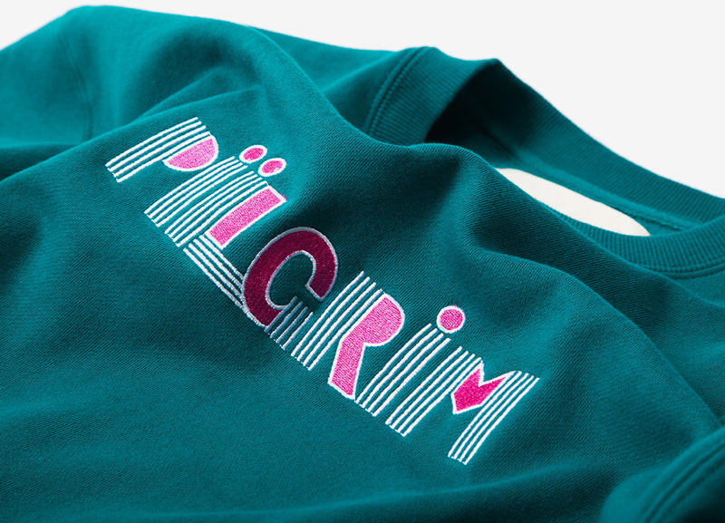 Piilgrim Saturn Sweatshirt - Teal