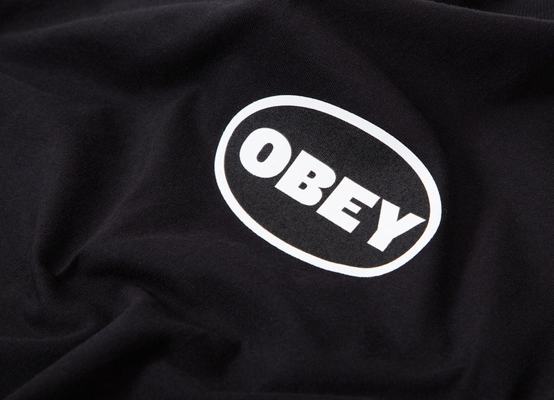 Obey Galleria T Shirt - Black