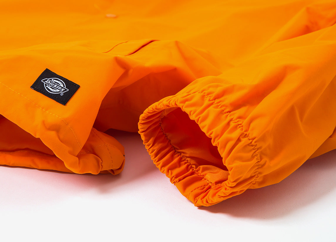 Dickies Summerfield Waterproof Coach Jacket - Energy Orange
