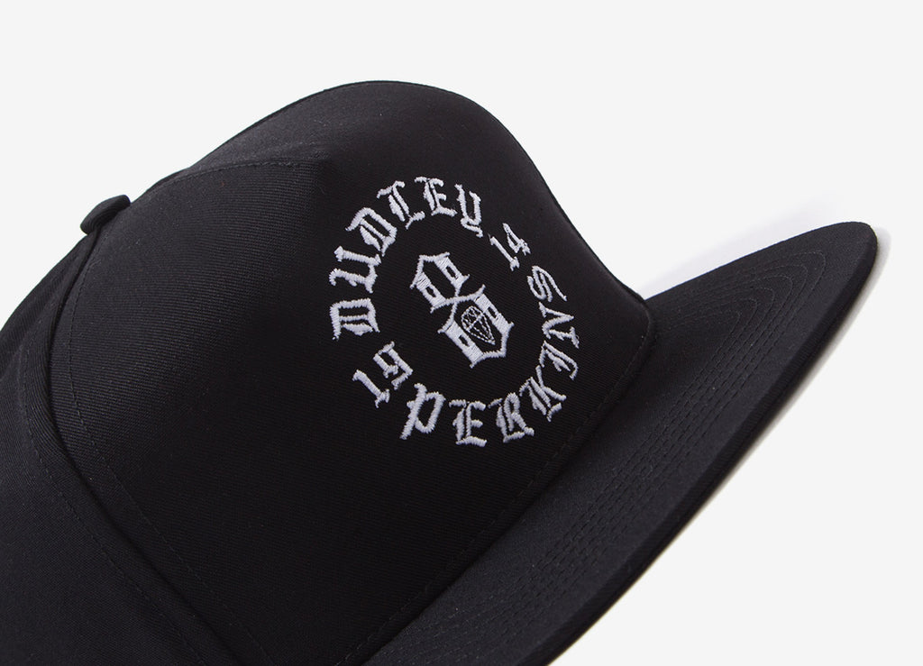 Rebel8 Head Over Wheels Snapback Cap - Black