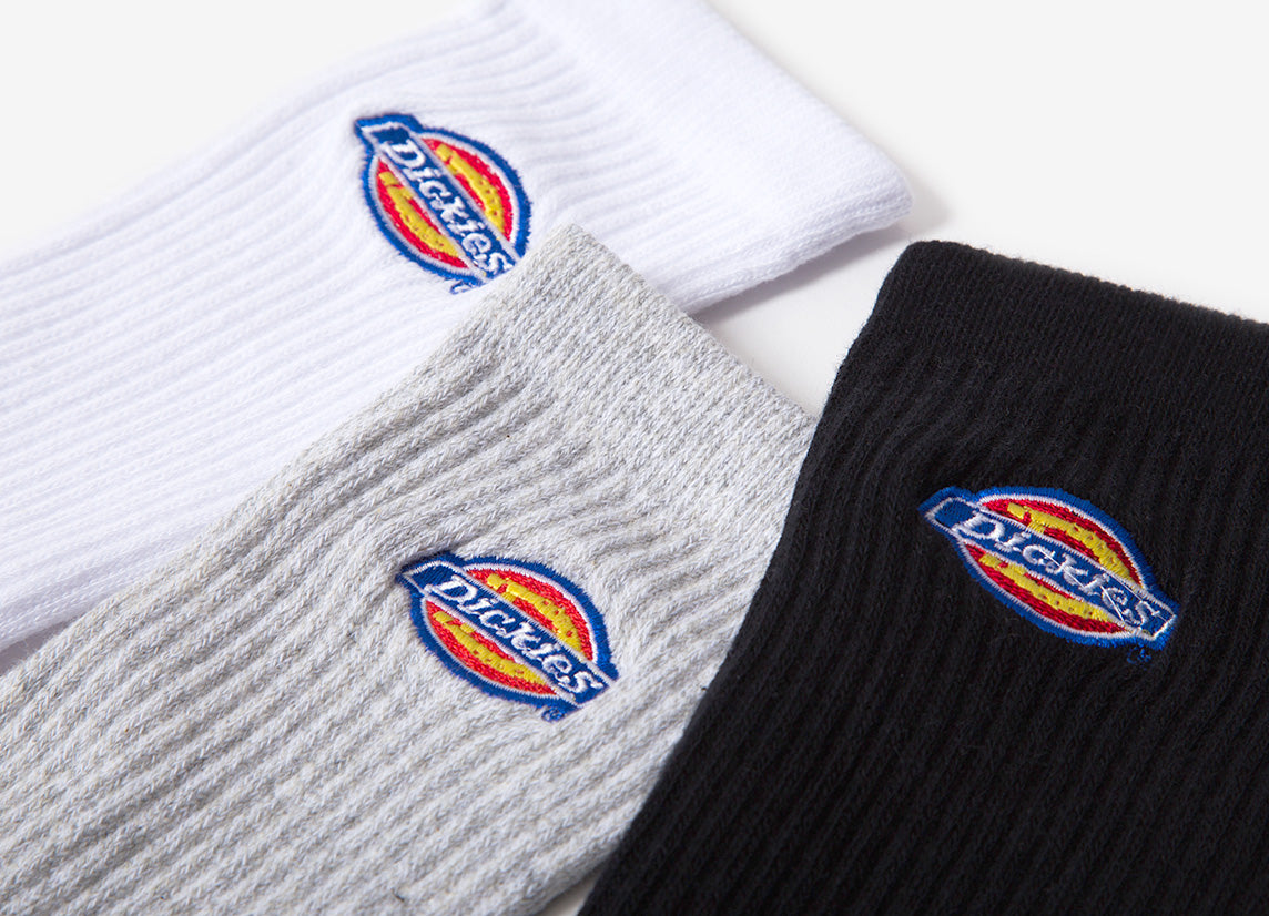 Dickies Valley Grove Socks - Assorted (3-Pack)