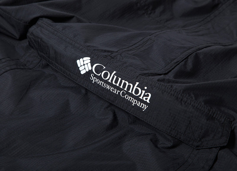 Columbia Hood River Challenger Windbreaker Jacket - Black