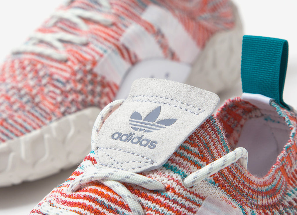 adidas Originals F/22 Primeknit Shoes - Shock Green/Core Black/Crystal White