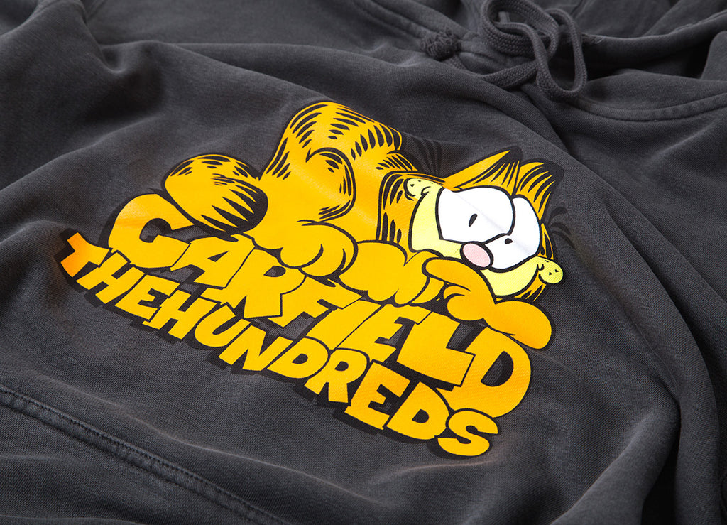 The Hundreds x Garfield Original Pullover Hoody - Pigment Black
