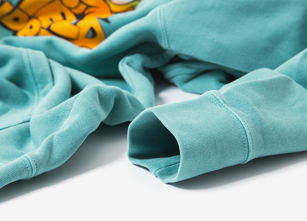 The Hundreds x Garfield Original Pullover Hoody - Pigment Mint