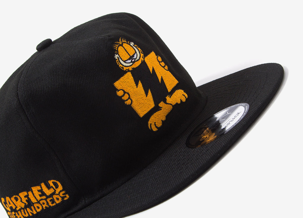 c022f171983 The Hundreds x Garfield Flag Unstructured Snapback - Black