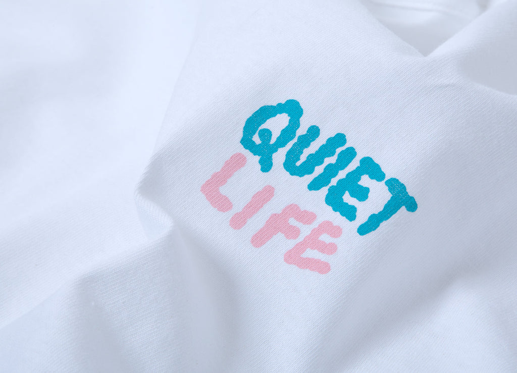 The Quiet Life Bryant Long Sleeve T Shirt - White