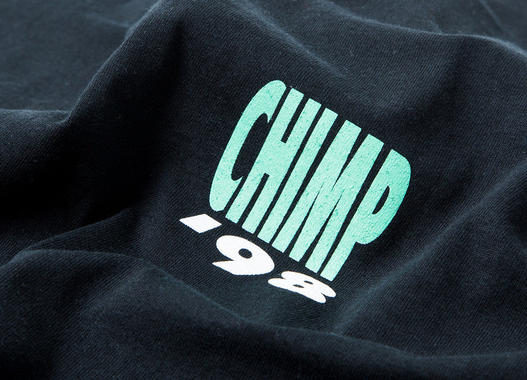 Chimp Smooth T Shirt - Black