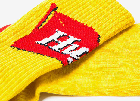 HUF Mustard Socks - Yellow