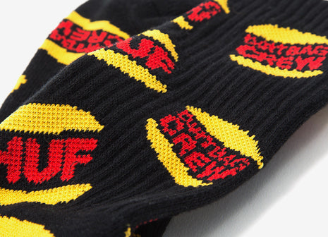 HUF DBC King Socks - Black
