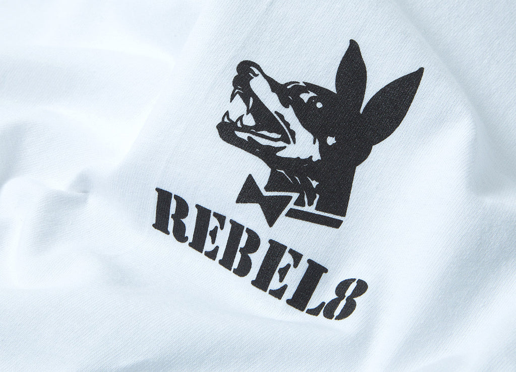 Rebel8 Proper Fucked T Shirt - White