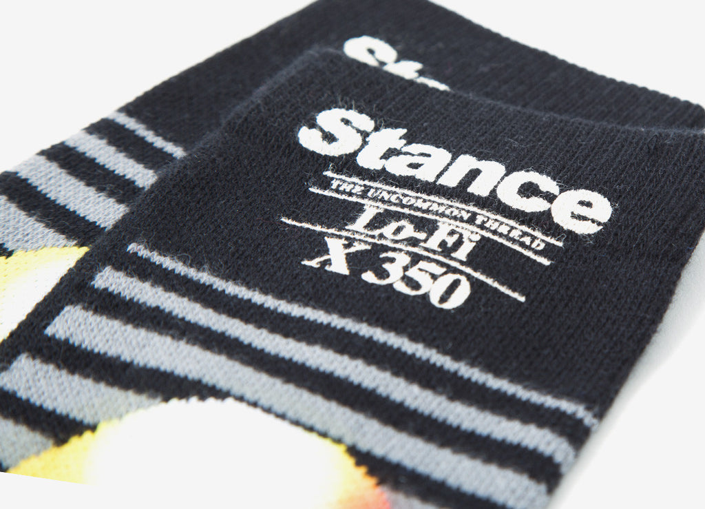 Stance Lo-Fi Socks - Black